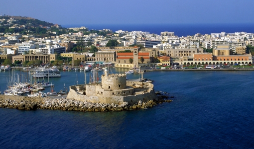 Rhodes combines sun and sea with amazing history