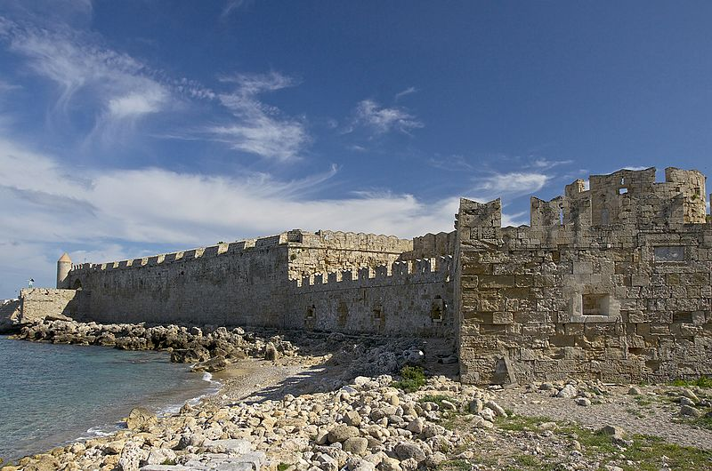 Rhodes fortifications