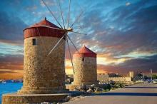 Rhodes has been ranked one of the top 10 islands in Europe to visit